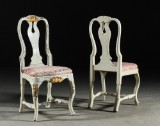 Rococo chairs, Stockholm work, 18th century (2)