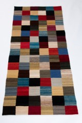 Teppich, Design Modern Kelim Kaudani ca 239 x 101 cm