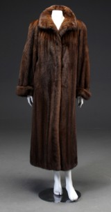 Marco Gianotti mink coat,  scanbrown mink size M