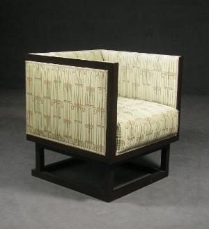 josef hoffmann sessel 39 cabinett 39 f r wittmann. Black Bedroom Furniture Sets. Home Design Ideas
