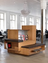 Søren Rose. Specially produced multifunctional piece, oiled oak