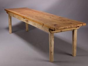 Langbord / spisebord, fyrretræ | Lauritz.com