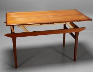 Icke gamla Soffbord/matbord, uppfällbart, teak | Lauritz.com TK-59