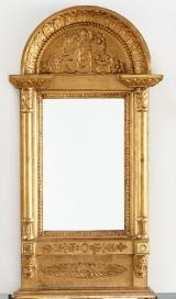 Spegel omkring 1900