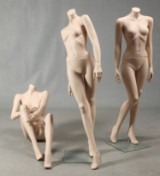 Tre mannequindukker (3)