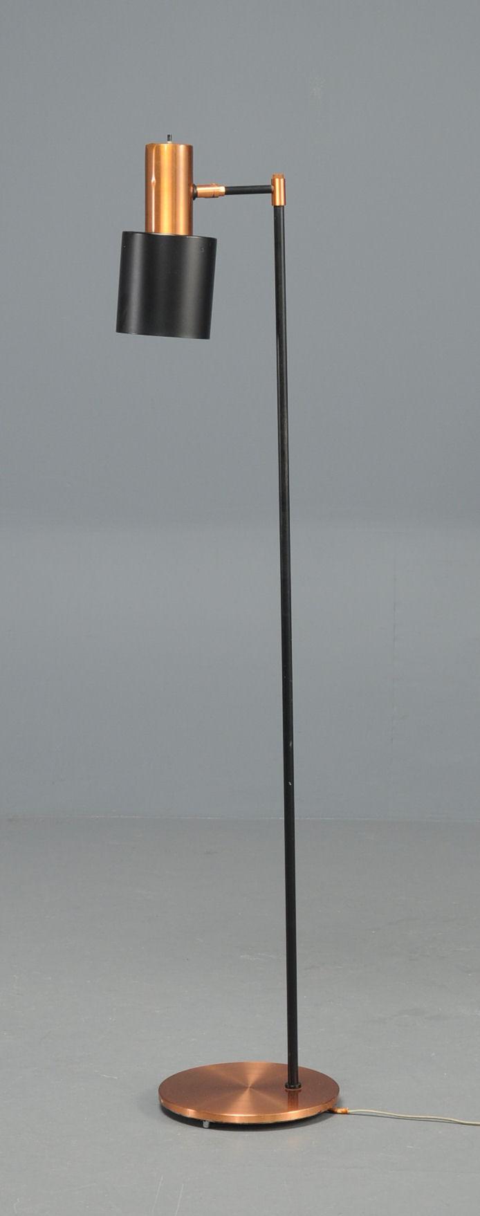 Slutpris för Gulvlampe standerlampe, kobber, Fog