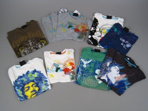 Stor samling t-shirts 50