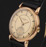 Patek Philippe. Vintage men's watch, 18 kt. gold with separate second hand