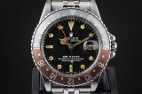 Rolex GMT-Master 'Coke' vintage men's watch, steel, ref. 1675. c. 1972