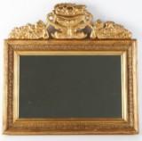 Spegel, bronserad, omkring 1900.