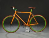 Von Braun. Fixiebike. Orange lakeret.