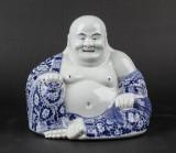 Kinesisk Buddha  af porcelæn