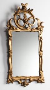 Rokoko spejl, 1700-tallet
