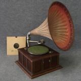Trattgrammofon, 1900-talets första del