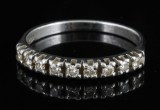 18kt. diamond ring approx. 0.30ct