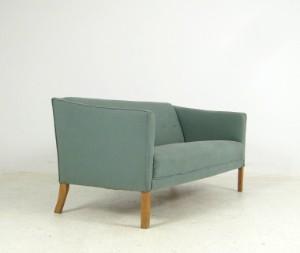 Smart Børge Mogensen, tidlig 2-pers. sofa, fremstillet hos FDB Møbler SH51