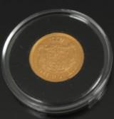 Guldmønt - 10 kroner Frederik Vlll, 1908