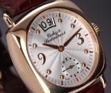 Dubey & Schaldenbrand 'Calendar'. Men's watch, 18 kt. gold with guilloche dial, c. 2013