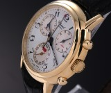 Chopard 'Mille Miglia Chronograph'. Men's watch, 18 kt. gold - only 50 made