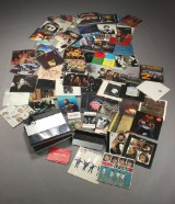 Samling LP'er samt Beogram 5500, Beogram CD 5500, Master Control Panel 5500 samt div. bøger om Bob Dylan, John Lennon, Paul McCartney og The Beatles
