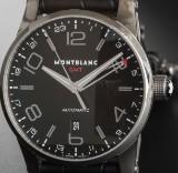 MONTBLANC GMT Timewalker - Herrenarmbanduhr, Automatik