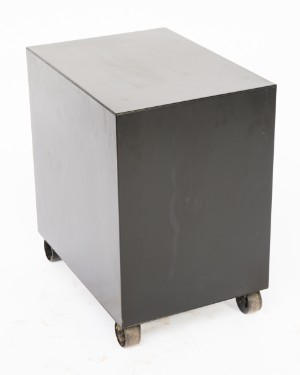 schreibtisch mit container f r tecno 2. Black Bedroom Furniture Sets. Home Design Ideas