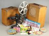 Skandinavsk Aero Industri, 16mm Kz projector / rejsebiograf med højttalere, Type GY16C (2)