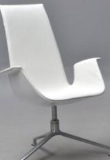 Preben Fabricius & Jørgen Kastholm. Hvilestol, 'Tulip chair'