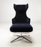 Antonio Citterio, Vitra, lounge chair, 'Grand Repos'