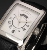 Maurice Lacroix men's watch, model 'Pontos Rectangulaire', with day and date