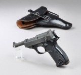 Walther P1 pistol. 9 mm