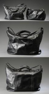 Vera Pelle, Rejsetaskesæt af sort læder (4)
