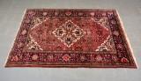 Handknuten persisk matta. Farahan. 211 x 150 cm.