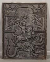 Sättugnsplatta i gjutjärn, 1800-tal