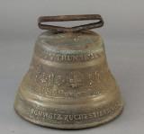 Schweizisk bronze klokke