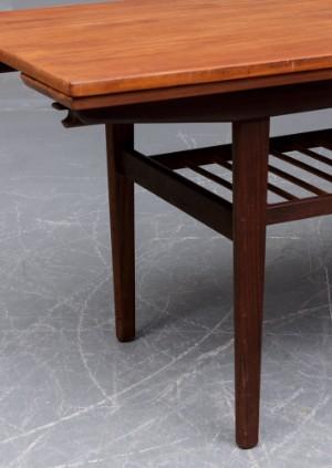 Vare: 3733730 dansk møbelproducent. sofabord/spisebord med udtræk ...