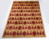 Tæppe, design 'Ozbeki Pamir' fra Loomier, Afghanistan, ca. 295 x 207 cm