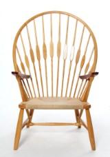 H. J. Wegner. Peacock chair. Lounge chair, Johannes Hansen