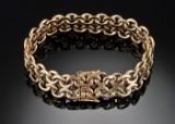 Gold bracelet - 62.4g