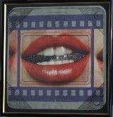 Joe Tilson, litografiskt tryck, Clip-o-matic