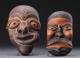 Grønlandica: To åndemasker (2)