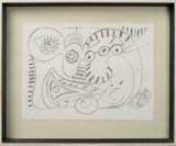 Ubekendt kunstner, komposition, litografisk tryk