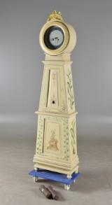 Golvur, 1800-tal senare bemålad