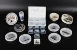Kgl., B&G og Holmegaard, samling fade, vaser m.m., porcelæn (24)