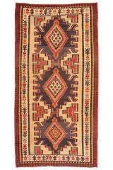 Persisk Shahsavan Kelim 330 x 170 cm.
