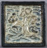 Knud Kyhn for Royal Copenhagen. Relief.
