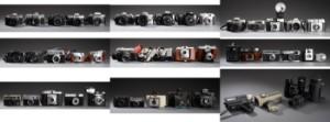 Stor samling analoge kameraer - Dk, Herlev, Dynamovej - Stor samling analoge kameraer, heriblandt Zeiss Ikon Nettar Velio Novar-Anastigmat, Zeiss Ikon Contina, Minolta XG1, Agfa Isola, Agfa Synchro Box, Agfa Isoly Achromat, Brownie 127, Pentax MZ-M, Pentax MZ-50, Pentax MZ-10, Pentax MZ - Dk, Herlev, Dynamovej