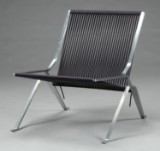 Poul Kjærholm. Lounge chair, Model PK 25, display model
