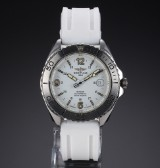 Breitling Shark men's watch, steel, White dial with date, 1990's