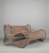 Kenneth Cobonpue, sculptural lounge sofa model Pigalle